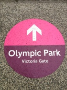 Olympic Entry Wayfinding